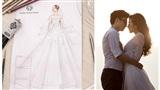 Cận kề ngày hỷ, mẫu váy cưới của Dương Tú Anh được tiết lộ: Lộng lẫy khiến ai nấy xuýt xoa