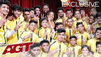 Tưởng niệm người bạn đã qua đời do chấn thương bằng bài nhảy xuất sắc, nhóm nhảy Ấn Độ nhận được nút vàng