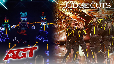 America's Got Talent: Nhóm nhảy điện tử nhí nhận nút vàng, được khen là 'tuyệt tác nghệ thuật'