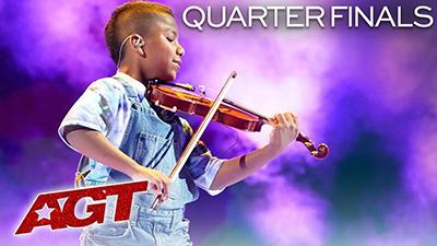 America's Got Talent 2019 vòng tứ kết 2: Thiên tài violin xuất sắc tỏa sáng