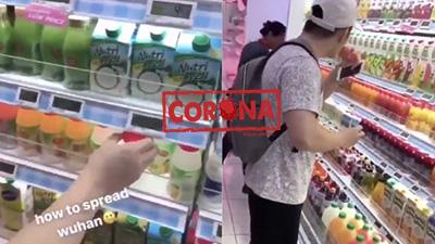'Dạy' cách làm lây nhiễm Corona, nam thanh niên Singapore nhận không ít gạch đá