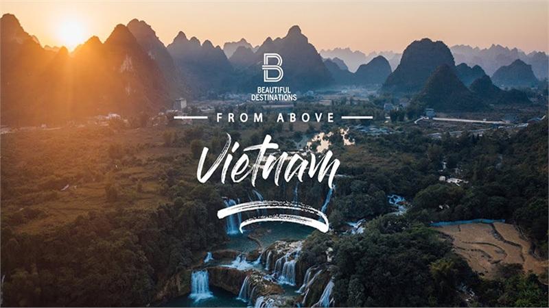 Việt Nam từ trên cao đẹp lung linh qua camera của nhóm quay video clip du lịch nổi tiếng thế giới
