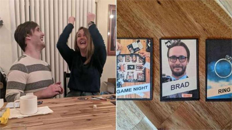 Kế hoạch du lịch bị đổ bể vì Covid-19, chàng trai sáng tạo dùng board game để cầu hôn bạn gái