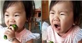 Lần đầu ăn ớt, cô bé có loạt biểu cảm khó đỡ gây sốt cộng đồng mạng