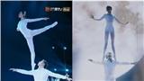 Múa ballet trên cao gây 'thót tim', cặp đôi xứng đáng nhận được nút vàng từ BGK World's Got Talent