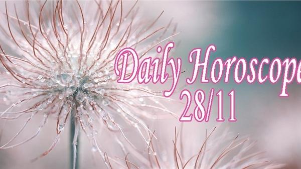 Thứ Bảy của bạn (28/11): Nhân Mã đạt kết quả hài lòng, Sư Tử thoát khỏi cảm giác bị phụ thuộc