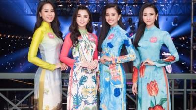 Đọ nhan sắc của các cô gái sinh năm 2000 tại Hoa hậu Việt Nam 2018