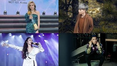 Vpop tuần qua: Orange thắng giải 'Siêu sao mới châu Á', Đông Nhi cùng Thiều Bảo Trâm, Isaac rục rịch trở lại