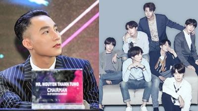 Sơn Tùng: 'Tự hào vì BTS, muốn đi theo con đường của nhóm nhạc hàng đầu Kpop'