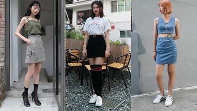 Lên đồ chẳng cầu kì song phong cách của giới trẻ Hàn vẫn 'chất chơi'như thường