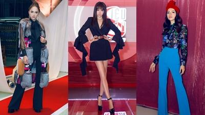 Điểm lại những bộ cánh ấn tượng của Hoa hậu Hương Giang tại Siêu mẫu Việt Nam 2018
