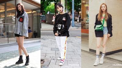 Street style giới trẻ Hàn tuần qua: Tràn ngập những món đồ basic đơn giản mà vô cùng trẻ trung nổi bật