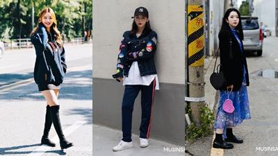 Street style giới trẻ Hàn tuần qua: Toàn những tuyệt chiêu mix đồ 'chất như nước cất'