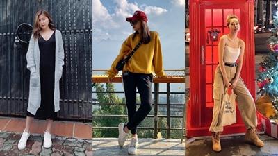 Loạt hot girl Việt mặc gì trong những ngày đầu đông?
