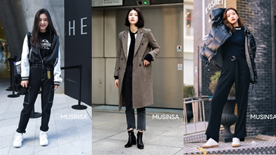 Học lỏm bí quyết mix đồ street style đầu Đông đẹp mỹ mãn từ giới trẻ Hàn