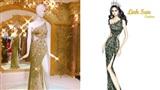 Hé lộ bộ đầm dạ hội Hương Giang mặc trong đêm chung kế Hoa hậu Chuyển giới Quốc tế 2019