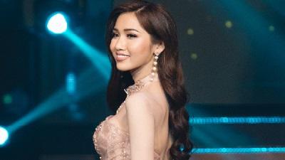Nhật Hà nhận giải phụ thí sinh có video giới thiệu ấn tượng nhất tại Miss International Queen 2019