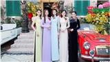 Đỗ Mỹ Linh và dàn hoa hậu, á hậu nổi bật khi diện áo dài xưa
