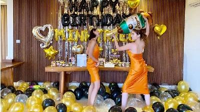 Bỏ ngoài tai tin đồn yêu đương, Kỳ Duyên cùng Minh Triệu sang Bali để tổ chức sinh nhật