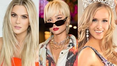 H'Hen Niê khiến một loạt hoa hậu trên thế giới trầm trồ vì mái tóc bạch kim cá tính