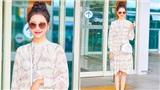 Diện trang phục đơn giản, Sunmi vẫn tỏa sáng tại sân bay nhờ tăng cân
