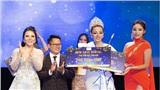 Kỳ Duyên trao vương miện Hoa hậu cho Tân Hoa hậu Sắc đẹp toàn cầu Châu Á 2019
