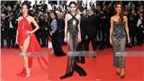 Ngoài Ngọc Trinh, đây là những người đẹp gây 'nhức mắt' với trang phục hở bạo trên thảm đỏ Cannes 2019