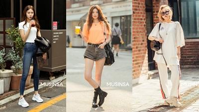 Chỉ diện toàn đồ basic đơn giản nhưng giới trẻ Hàn vẫn hô biến nên street style 'chất thôi rồi'