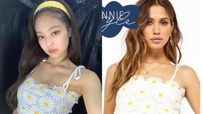 Diện áo bình dân giá rẻ mà vẫn vô cùng xinh đẹp lại nổi bật hơn cả mẫu Tây thì chỉ có thể là Jennie!