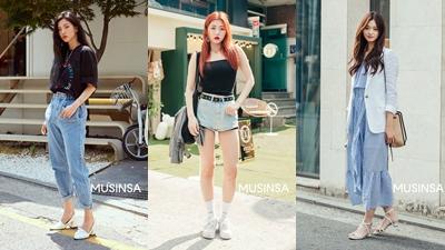 Chỉ diện đồ 'sương sương', giới trẻ Hàn vẫn tạo nên loạt ảnh street style đẹp 'hết nấc'