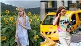 Từ Âu sang Á, các sao đều đang đồng loạt lăng xê xu hướng thời trang tie dye
