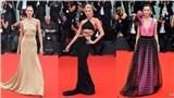 Thảm đỏ LHP Venice 2019: Dàn chân dài Victoria's Secret mặc táo bạo so kè sắc vóc gợi cảm với các người đẹp xứ Trung