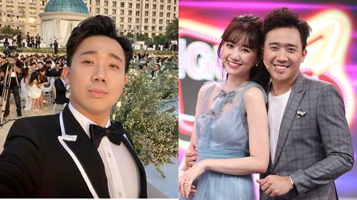 Làm MC trong đám cưới Đông Nhi - Ông Cao Thắng, Trấn Thành chia sẻ gây sốc về cô dâu