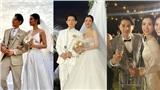 3 bộ lễ phục của chú rể Ông Cao Thắng: Ấn tượng không hề kém cạnh cô dâu Đông Nhi