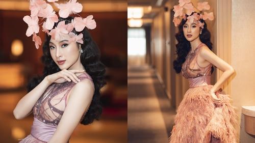 Tái xuất Vbiz đi sự kiện, Angela Phương Trinh mắc lỗi trang phục kém duyên