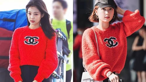 Jennie và Ngọc Trinh cùng diện mẫu áo len của Chanel nhưng mỗi người mix một kiểu: Ai xuất sắc hơn?