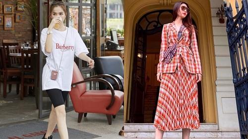 Những xu hướng street style được sao Việt lăng xê nhiều nhất 2019
