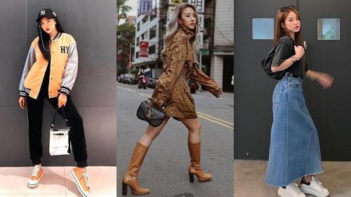 Trang phục khỏe khoắn, cá tính 'chiếm sóng' street style hot girl Việt tuần qua