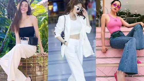 Thời trang street style những ngày cận Tết của sao Việt: Chi Pu, Hà Hồ, Ngọc Trinh so kè phong cách với trang phục tôn dáng