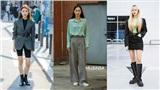 Quần ống rộng cùng hàng loạt hot trend bạn cần tham khảo từ street style của giới trẻ Hàn tuần qua