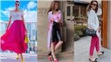 Ngọc Trinh, Thanh Hằng cùng loạt mỹ nhân Việt 'mê mệt' trang phục màu hồng