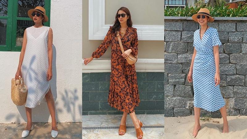 Đã mắt ngắm bộ sưu tập váy hè vừa mát mẻ lại 'sang xịn mịn' của Tăng Thanh Hà