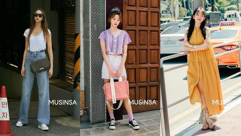 Street style siêu 'chất' của giới trẻ Hàn tuần qua sẽ khiến bạn nhận ra lên đồ thật đơn giản, thoải mái vào mùa hè mới là chân ái