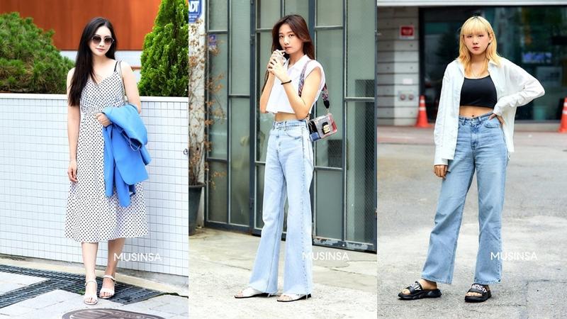 Street style giới trẻ Hàn chứng minh diện đồ đơn giản thoải mái chính là chân lý mùa hè