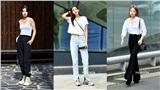 Muốn lên đồ đơn giản thoải mái mà vẫn cool và tôn dáng, bạn hãy xem ngay street style của giới trẻ Hàn tuần qua