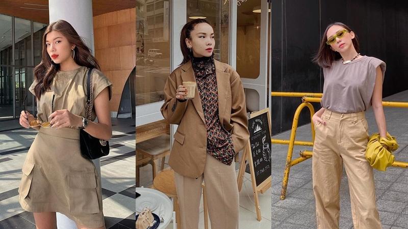 Biến tấu style mùa thu với loạt gợi ý diện trang phục màu be 'sang xịn mịn' từ các mỹ nhân Việt