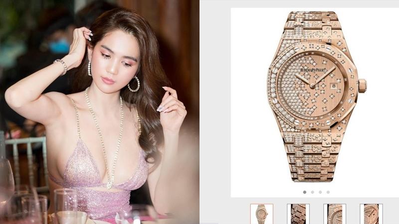 Bóc giá loạt đồng hồ hàng hiệu đáng mơ ước của Ngọc Trinh