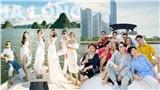 'Cuộc chiến' khoe dress code của sao Việt khi mở tiệc trên du thuyền