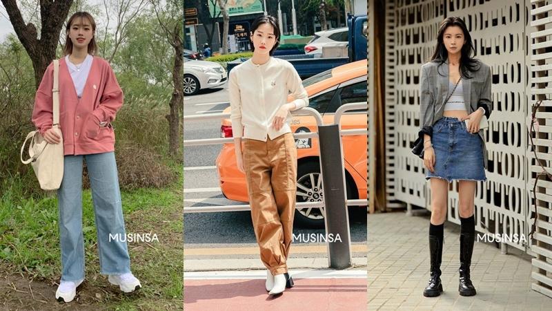 Ngắm street style giới trẻ Hàn tuần qua, bạn sẽ nắm được cả loạt công thức mix đồ 'hot hit' của mùa thu này