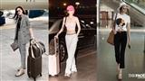 Cuộc đua thời trang sân bay của mỹ nhân Việt: Ngọc Trinh chăm diện đồ sexy nhưng liệu có táo bạo bằng người đẹp này